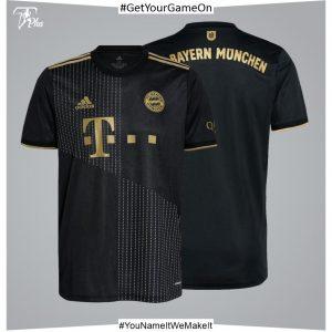 FC Bayern Away Shirt 2021-22