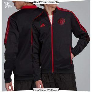 Manchester United Anthem Jacket - Black 21-22