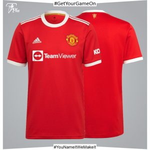 Manchester United Home Shirt 2021-22