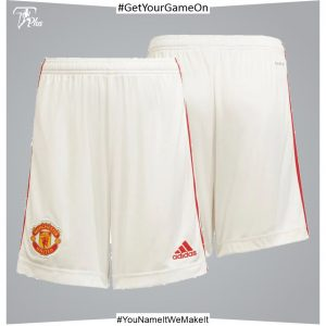 Manchester United Home Shorts 2021-22