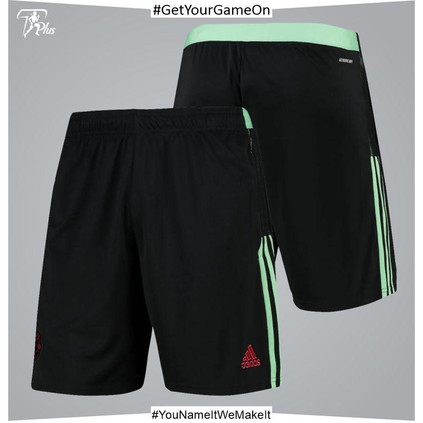 Manchester United Shorts - Black 2021-22