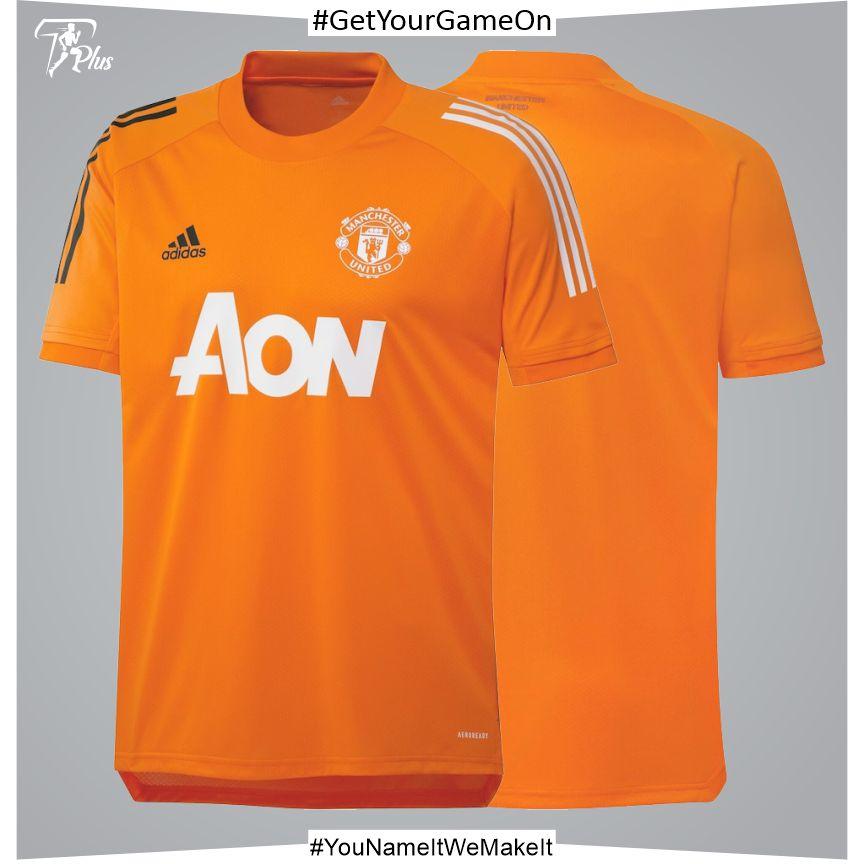Manchester United Training Jersey - Orange 2021-22