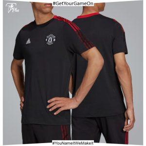 Manchester United Training T-Shirt-Black