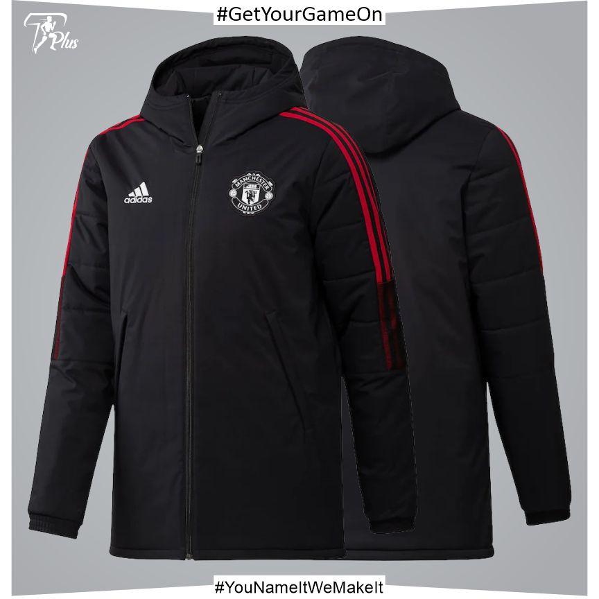 Manchester United Training Winter Jacket-Black