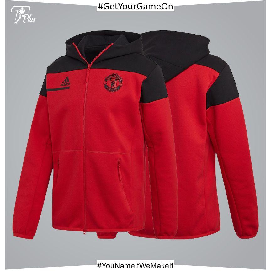 Manchester United ZNE Jacket - Red 2021-22