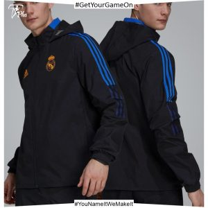 Real Madrid Mens Training All Weather Jacket 21-22