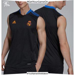Real Madrid Mens Training Sleeveless Shirt 21-22