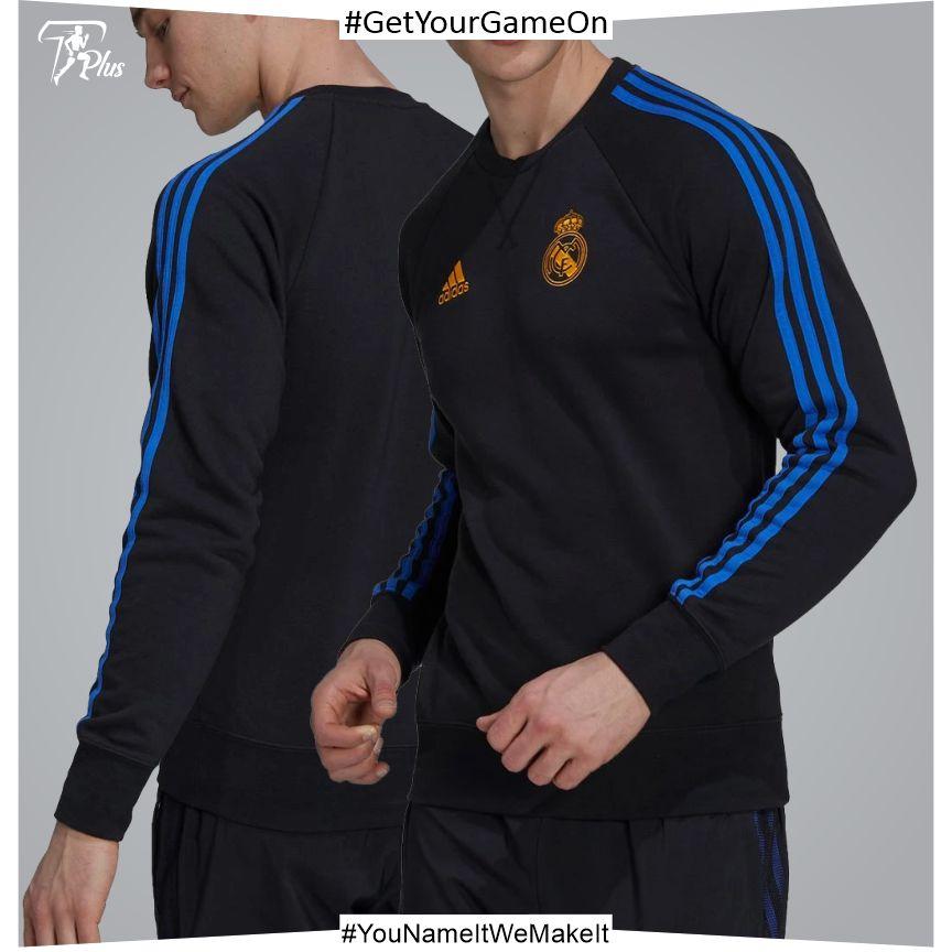 Real Madrid Mens Training Sweatshirt 21-22