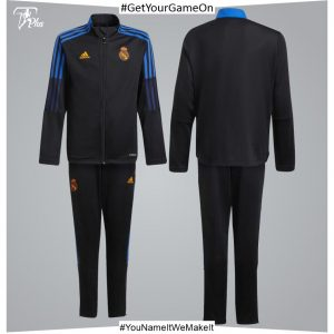 Real Madrid Youth Training Tracksuit 21-22